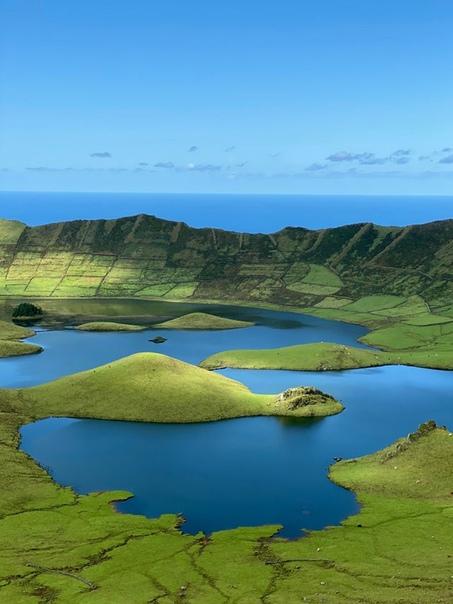 Остров Корву - самый маленький и самый северный остров Азорского архипелага (Португалия