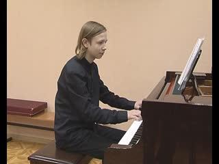 Юный пианист из Мурманска выступит на международном культурном форуме в Петербурге