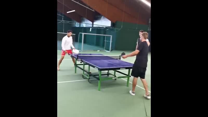 Pro needn't a racquet