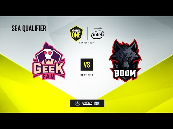 Geek Fam vs BOOM Esport, ESL One Hamburg 2019 QL, bo3, game 3 [Maelstorm]