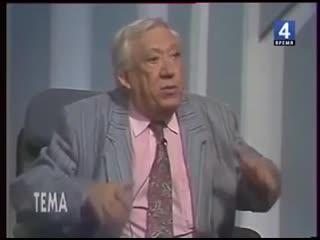 Юрий Никулин о том, как юмор  спас жизнь солдатам