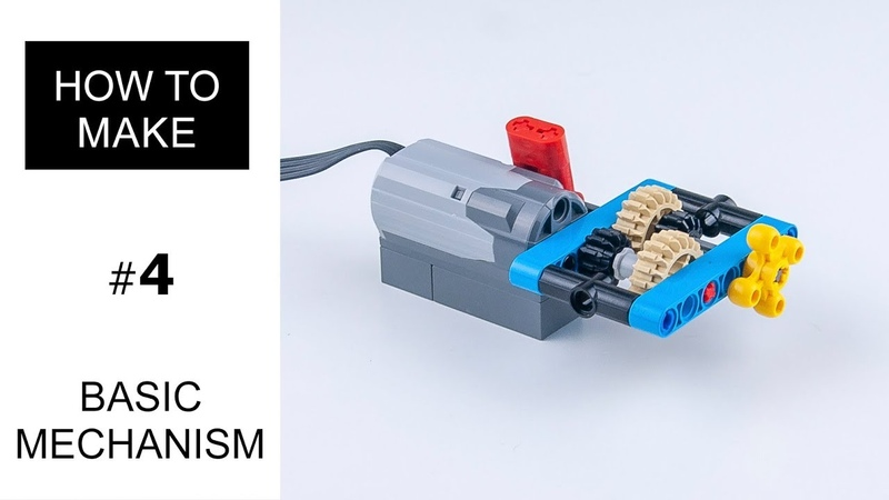 Механизм Лего Техник коробка передач - Lego Technic mechanism gearbox