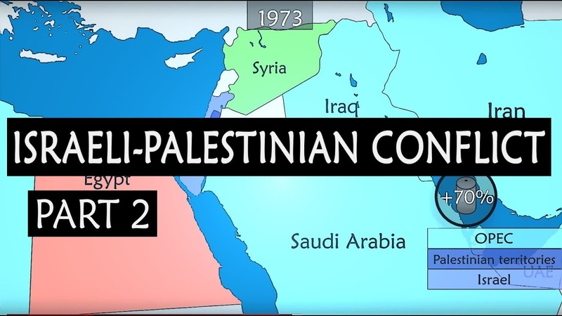 Israel Palestine conflict summary from 1917 to present