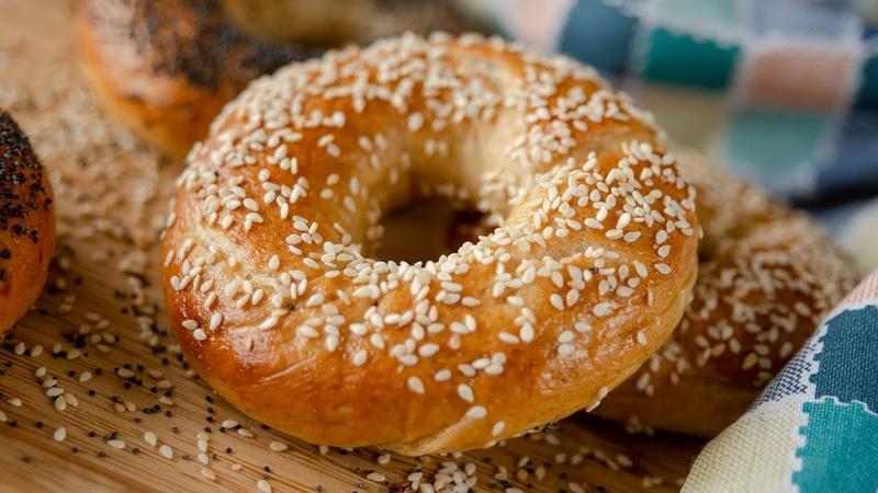 Вкусные БЕЙГЛЫ или домашние БУБЛИКИ | простой постный рецепт