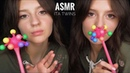 ASMR ITA 🇮🇹 Twins DOUBLE Relax 😴 Triggers, Tapping, Scratching Slime 😍
