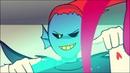 Undyne VS Betty (With Undyne's Battle 2 Theme)