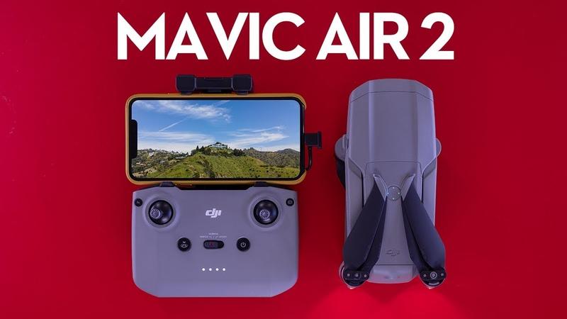 DJI Mavic Air 2 —48MP Photo, 4K60 Video, 10KM Range, 34 Minute Flight Time You Say