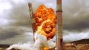 Взрыв труб на Нижнетуринской ГРЭС. Подорвали три трубы вид вблизи