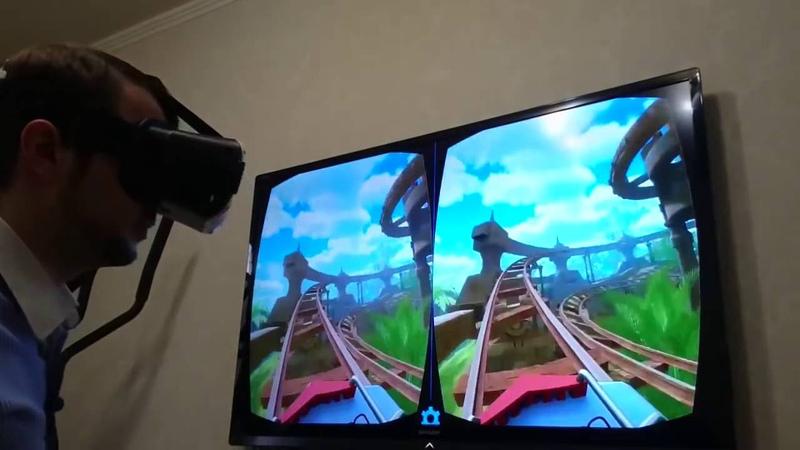 3D очки для смартфона Обзор возможности очков виртуальной реальности VR BOX Видеоинструкция