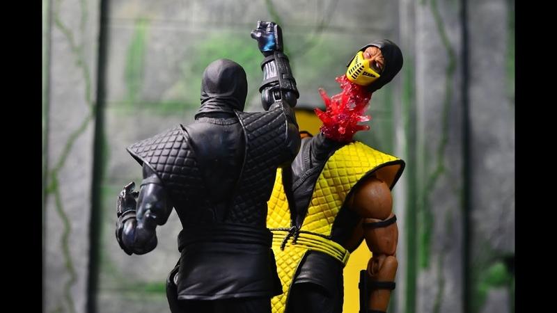 SDCC 2017 Storm Collectibles Mortal Kombat 1:12 Noob Saibot Review