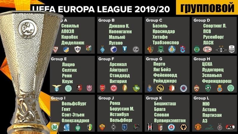 Лига Европы. Кто вышел в плей-офф? Результаты 6-го тура. Таблица, результаты.