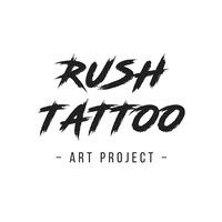 Логотип Тату-студия RUSH TATTOO(Тату в Омске)