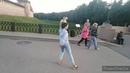 Саксофон и Танцующая 💃💃💃Девушка 🤣без 💐Комплексов!Вечер в парке!