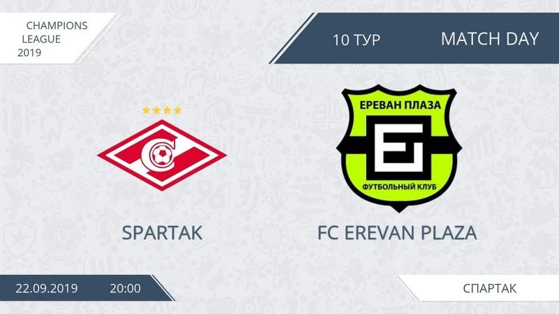 AFL19. Champions League. Day 10. Spartak FC Erevan Plaza