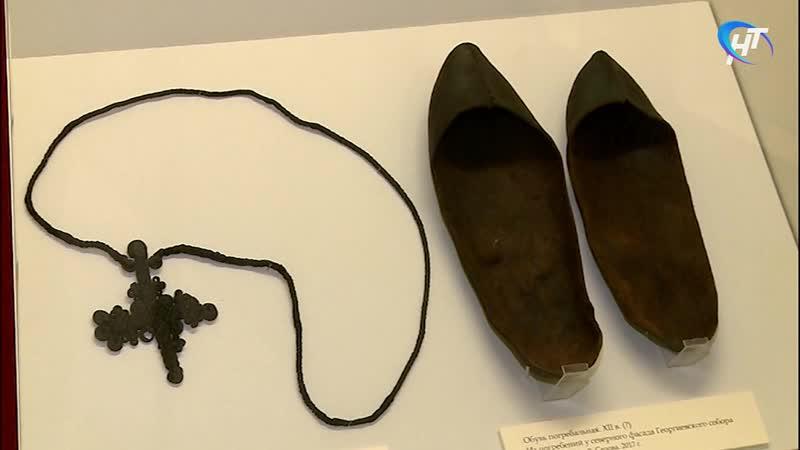 В музее заповеднике работает выставка Новые открытия Древнего Новгорода