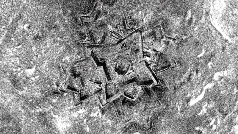 China libera fotografías de bases en la luna.