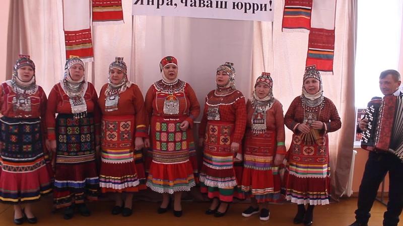Чувашская народная песня Хурăн çулçи