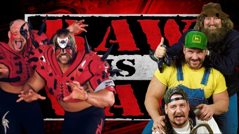 WWE 2K19 The Road Warriors vs The Godwinns Raw Is War '97 Tag Team Match