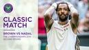 Dustin Brown vs Rafael Nadal | Wimbledon 2015 second round | Full Match