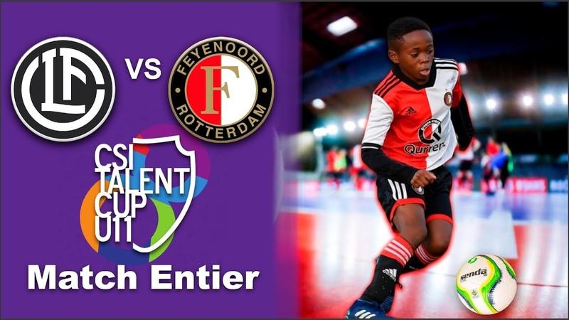 FC Lugano vs Feyenoord 0-2 Futsal CSI Talent Cup 2019 - U11