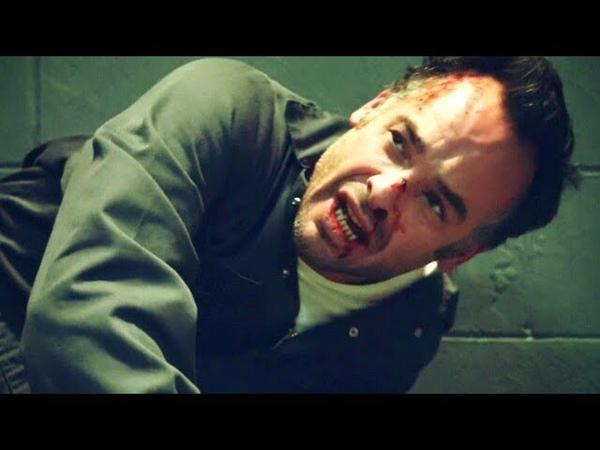 Заключённый совершил нападение на Квентина Ленса в тюрьме (Стрела 2 Сезон 19 Серия)