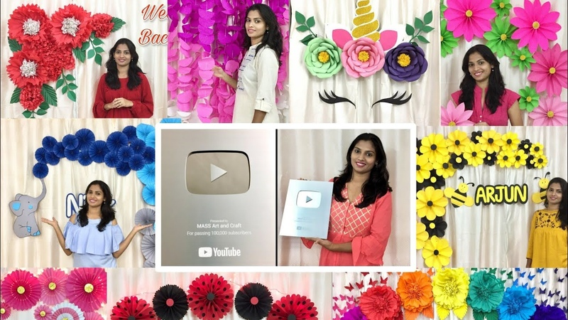 100 Videos of Easy Decoration Ideas Silver Play Button celebration.