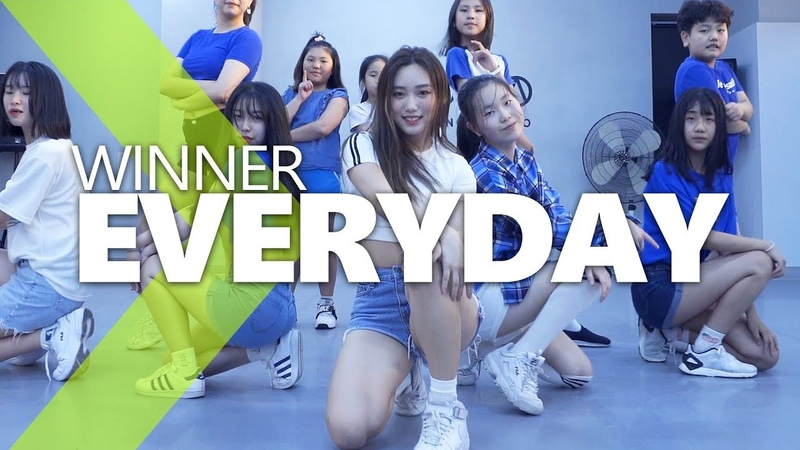 EVERYDAY (REMIX) - WINNER (위너) / ISOL Choreography.