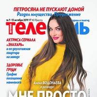 """Логотип Журнал """"Телесемь"""" в Иркутске"""