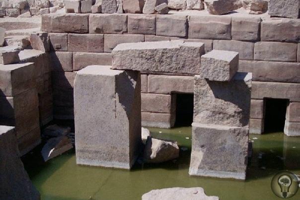 Высокие технологии прошлого храма Осириса Осирион - храм Осириса в древнем египетском городе Абидосе. Считается, что это одна из древнейших построек Египта. Здание сложено из огромных