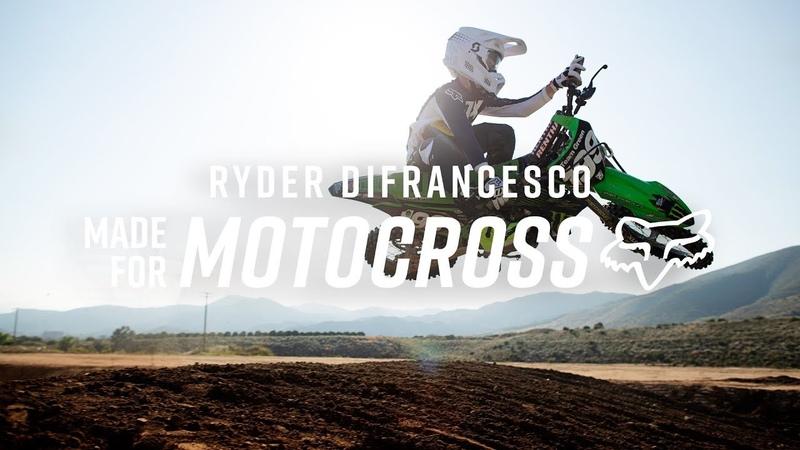 FOX MX20 MADE FOR MOTOCROSS RYDER DIFRANCESCO