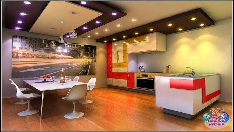 Дизайн потолка на кухне 60 идей для вдохновения