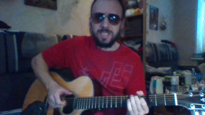 По синей грусти GAYAZOV$ BROTHER$ ковёр на гитаре с битом аккорды и текст