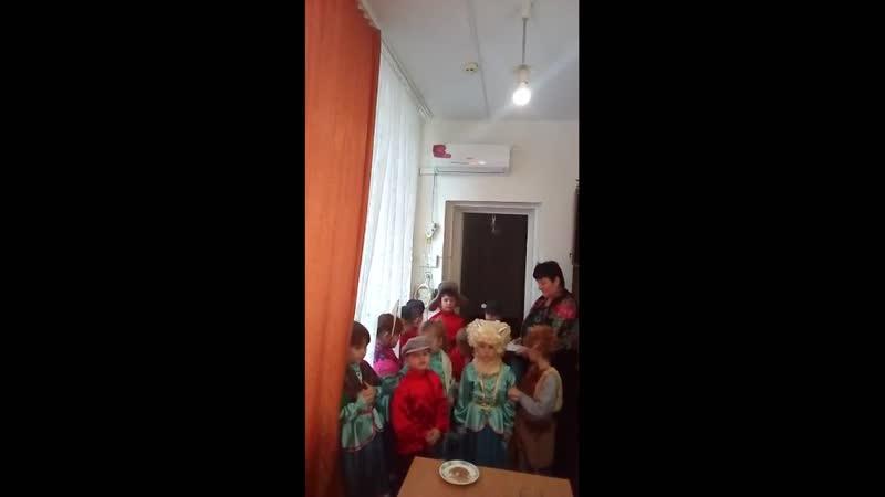 Воспитанники детсада №34 станицы Староджерелиевской посевают
