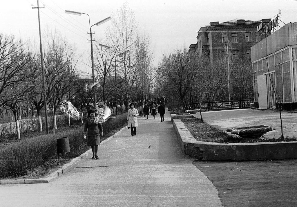 Кафе Спутник. 1974 год. Калмыкия-online.ру