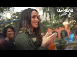Meghan Markle in India 2017.