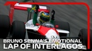 Bruno Senna's Emotional Lap Of Interlagos 2019 Brazilian Grand Prix
