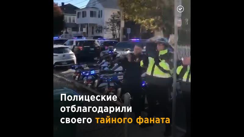 Полицейские отблагодарили таинственную Госпожу Печеньку