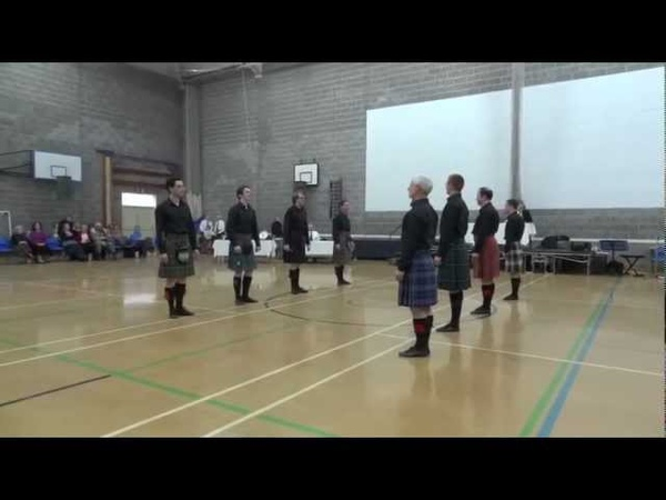 The Glens of Angus - RSCDS Edinburgh @ Newcastle Scottish country dance Festival 2012