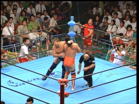Kenta Kobashi vs Stan Hansen (September 4, 1991)