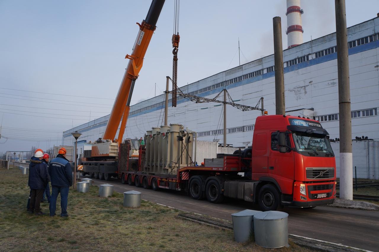 Берёзовская ГРЭС реализует инвестиционный проект по установке электрокотла и паровых газомазутных котлов