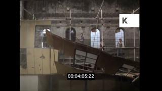 1980s UK, Demolishing A Building