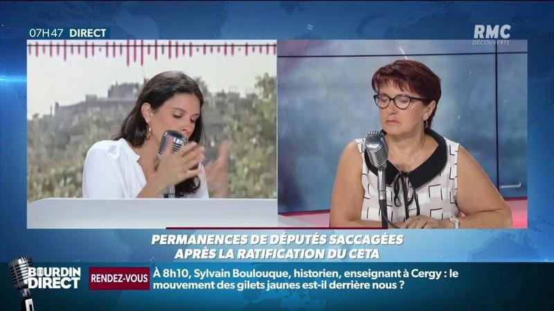 Vote du CETA La colère gronde dans les campagnes prévient Christiane Lambert
