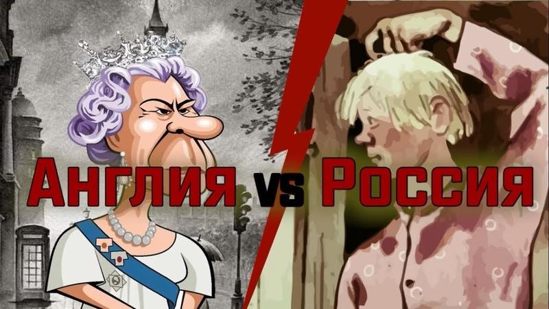 Англия vs Россия. РФ колония Англии факт №1
