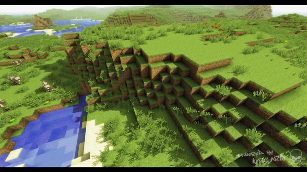 Фингалова пещера в игре Minecraft