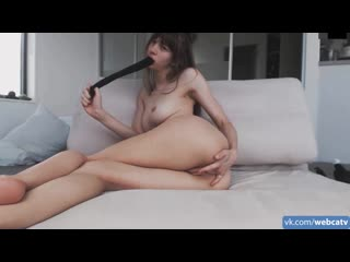 missalice_94 panties in my mouth cum! [solo, masturbation, toys, girl, tits, ass, fingering]
