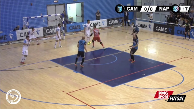 Serie A PlanetWin 365 Futsal Came Dosson Lollo Caffè Napoli Highlights