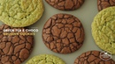 녹차 초코 브라우니 쿠키 만들기 Green tea Chocolate Brownie Cookies Recipe Cooking tree