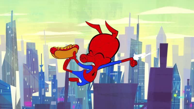 Свин-паук короткометражка от Marvel HQ