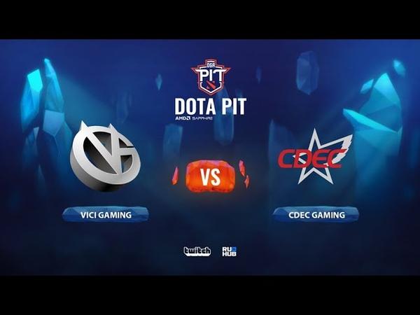 Vici Gaming vs CDEC Gaming OGA Dota PIT Season 2 China bo5 game 4 Smile Eiritel