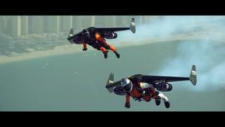 Jetman Dubai:Young Feathers | Русский перевод(4K)